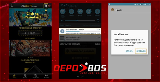 step download android joker777 pertama